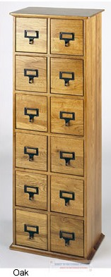 Library Design Media Cabinet-228