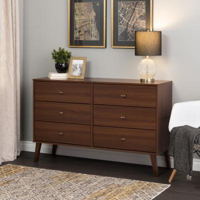 Milo 6-drawer Dresser, Cherry