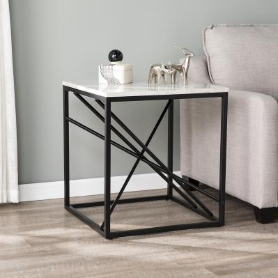 Arendal Faux Marble End Table