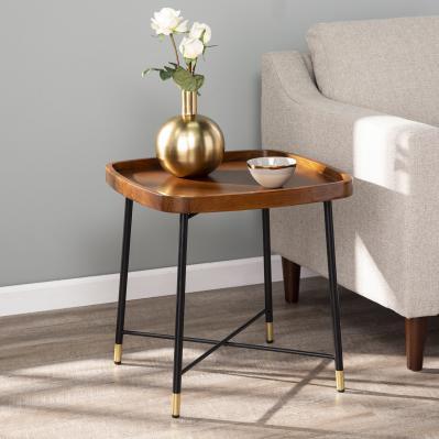 Morling Midcentury Modern Square End Table