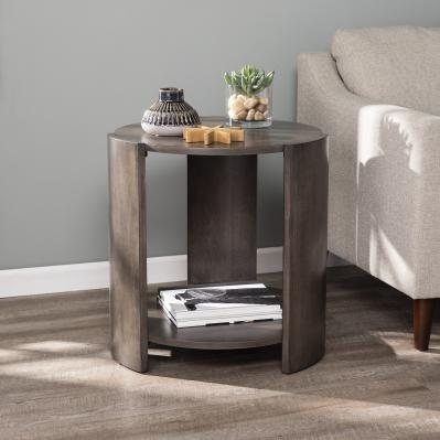 Arkendale Round Contemporary End Table