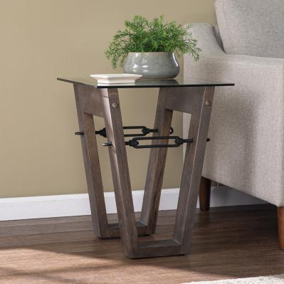 Garrinston Reclaimed Wood End Table