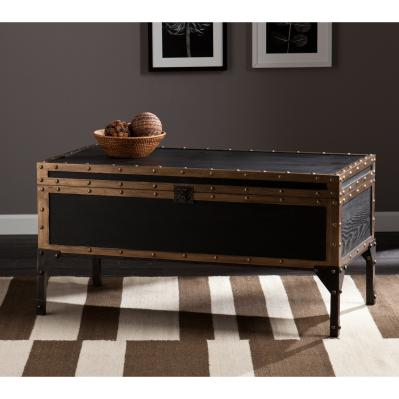 Drifton Travel Trunk Cocktail Table
