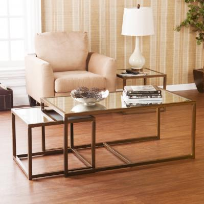 Nested Cocktail/End Table 3Pc Set
