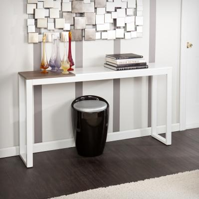 Holly & Martin Lydock Console Table - White