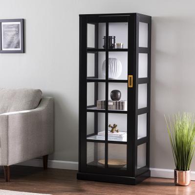 Burland Tall Curio Cabinet