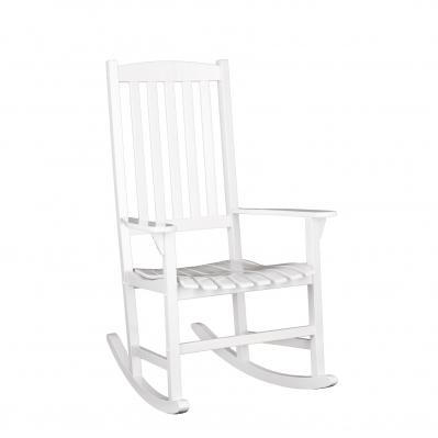 Hardwood Porch Rocker - White