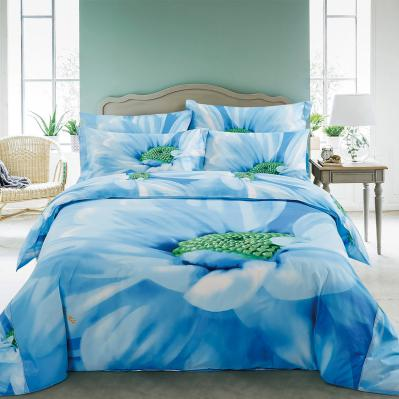 Floral King Duvet Cover Set Fitted Sheet Bedding | Dolce Mela DM511K