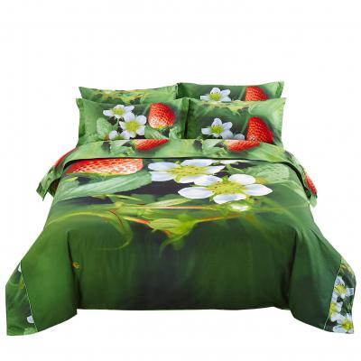 Duvet Cover Set Nature Twin XL Fitted Bedding Dolce Mela DM512T