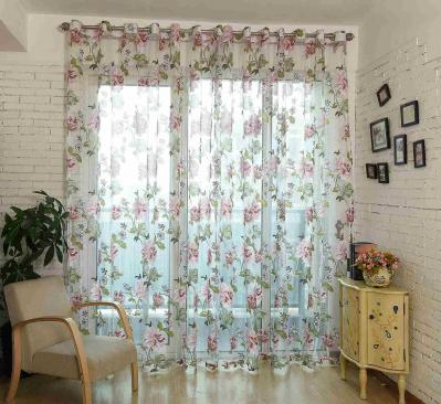 Sheer Curtains Window Treatments - Dolce Mela DMC471