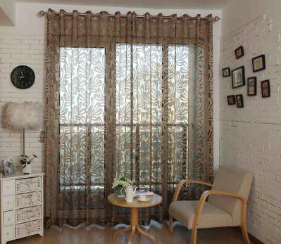 Sheer Curtains Window Treatments - Dolce Mela DMC473