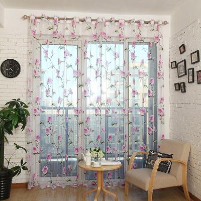 Sheer Curtains Window Treatments - Dolce Mela DMC478