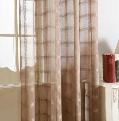 Sheer Curtains Window Treatments - Dolce Mela DMC485