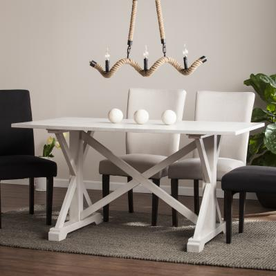 Cardwell Distressed Farmhouse Dining Table