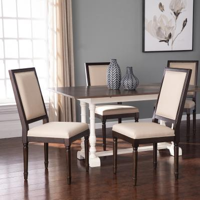 Earlston Upholstered Dining Chairs - 2pc Set