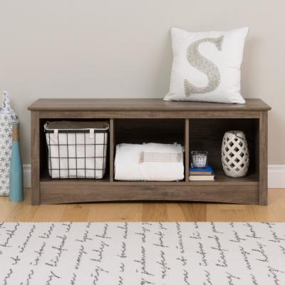 Cubbie Bench, Drifted Gray