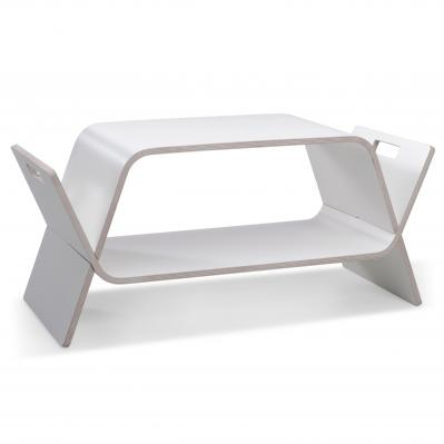 Embrace Table - White Laminate