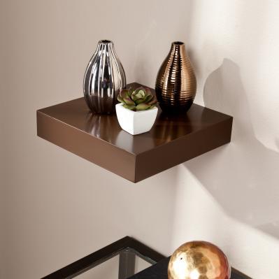 Chicago Floating Shelf 10 - Chocolate