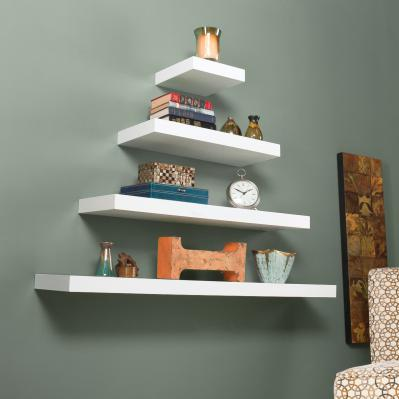 Chicago Floating Shelf 36 - White