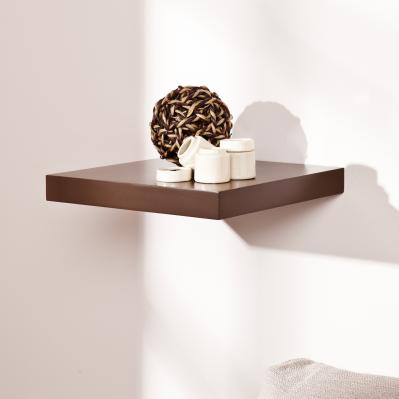 Aspen Floating Shelf 10-inch - Chocolate
