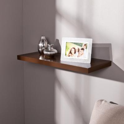 Aspen Floating Shelf 24-inch - Chocolate
