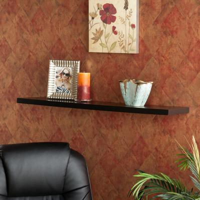 Aspen Floating Shelf 36-inch - Black