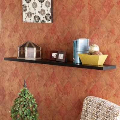 Aspen Floating Shelf 48-inch - Black