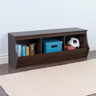 Fremont Stackable 3-Bin Storage Cubby