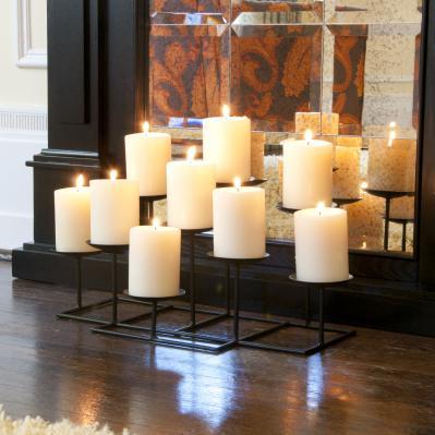 9 Candle Candelabra