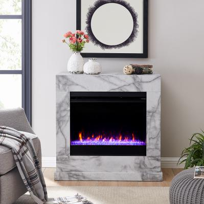 Dendale Faux Marble Fireplace