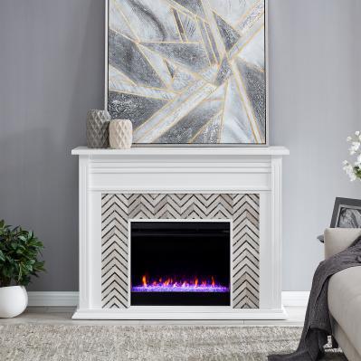 Hebbington Tiled Marble Fireplace