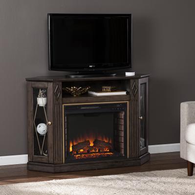 Austindale Electric Fireplace w/ Media Storage