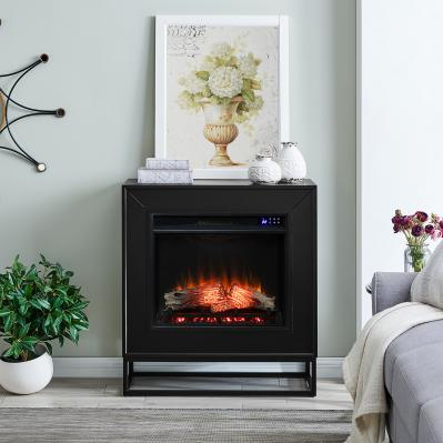 Frescan Contemporary Electric Fireplace