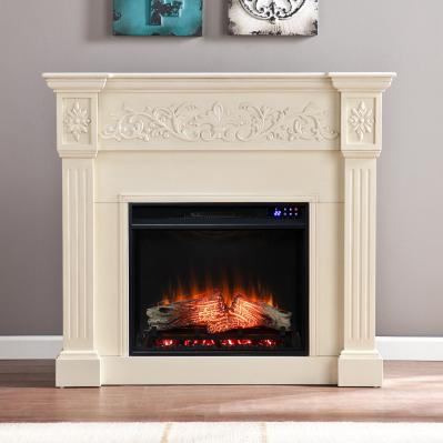 Calvert Carved Electric Fireplace