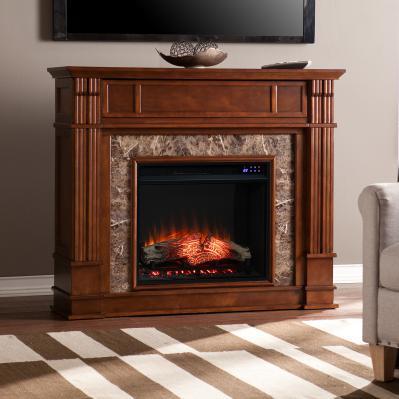 Highgate Media Electric Fireplace