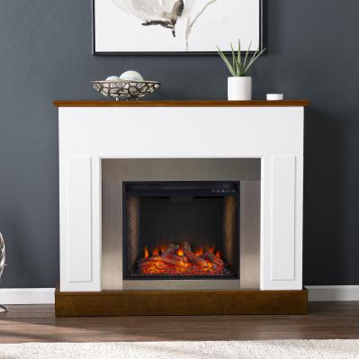 Eastrington Industrial Alexa Smart Fireplace