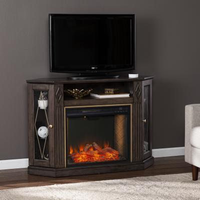 Austindale Smart Fireplace w/ Media Storage