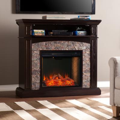 Grantham Convertible Smart Fireplace