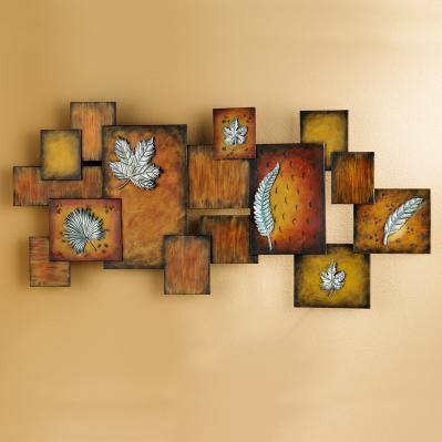 Leaves / Abstract Wall Art Panel