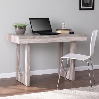 Chadkirk Faux Marble Writing Desk