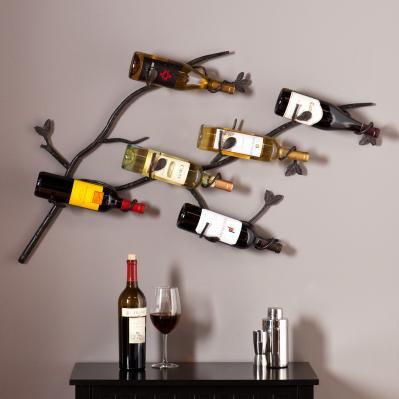 Brisbane Wall Mount Wine Rack