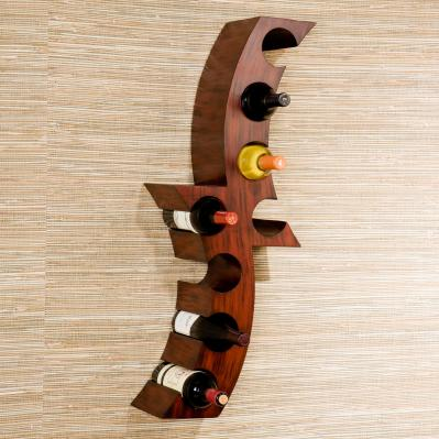 Calabria Wall Mount Wine Rack