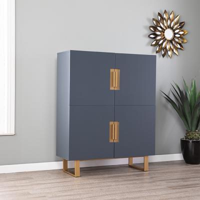 Hanzman Blue Accent Cabinet