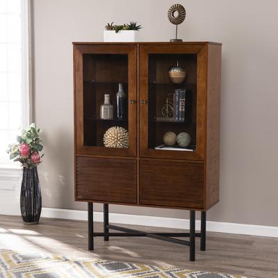 Gradington Glass-Door Curio Cabinet
