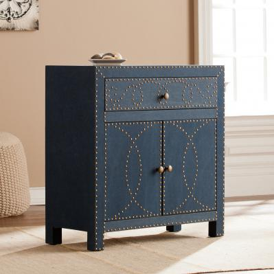 Florian Double-Door Cabinet - Navy
