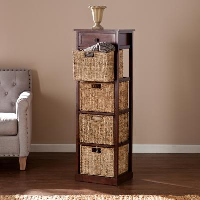 Kenton 4-Basket Storage Tower