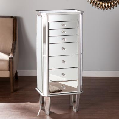 Margaux Mirrored Jewelry Armoire