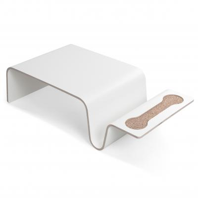 Overlap Tray - Laminate - White