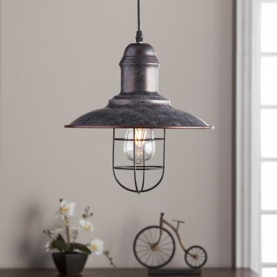 Alzette Industrial Bell Pendant Lamp