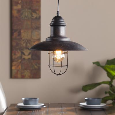 Tesino Industrial Cage Pendant Lamp